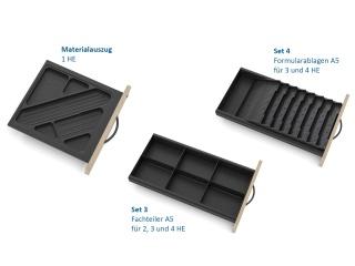 Container | Beispiele für Einrichtungssets für Schubladen