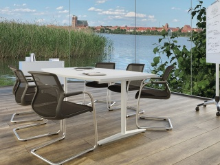 Büroeinrichtung | Tischsystem C-Fuß »CMR«